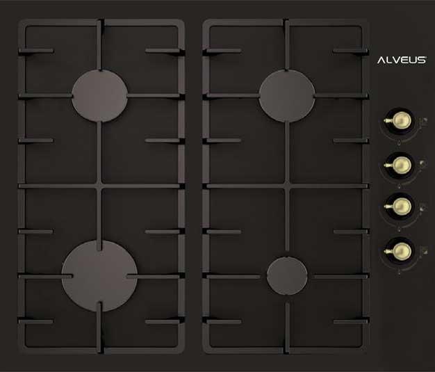 ALV GLS 640 DK RUSTİK BLACK